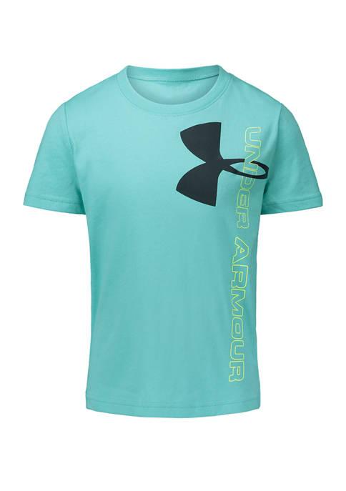 Under Armour® Boys 4-7 Split Logo Short Sleeve