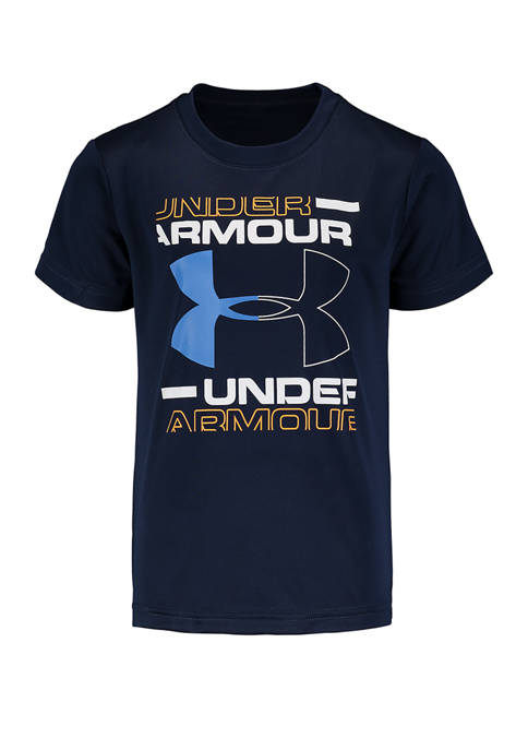 Under Armour® Boys 4-7 Boxed Logo T-Shirt