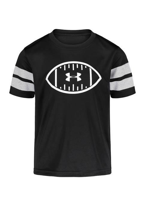 Under Armour® Boys 4-7 Short Sleeve Football Logo