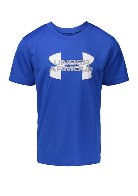 Under Armour® Boys 4-7 Velocity Logo Short Sleeve