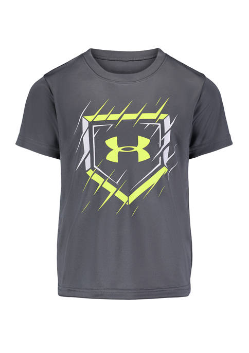 Under Armour® Boys 4-7 Slashed Home Plate T-Shirt