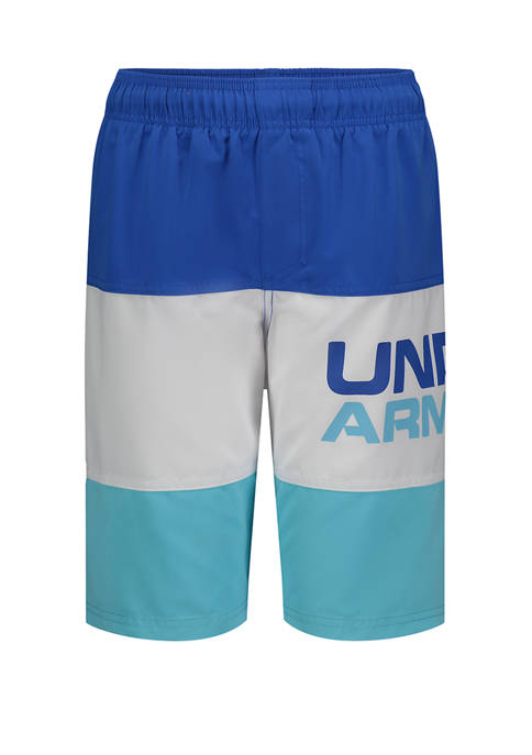 Under Armour® Boys 4-7 Triple Block Volley Swim