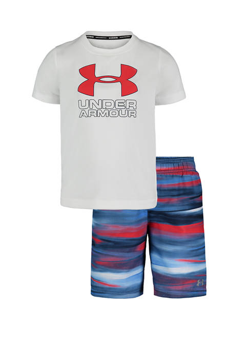 Under Armour® Boys 4-7 Volley Graphic T-Shirt and