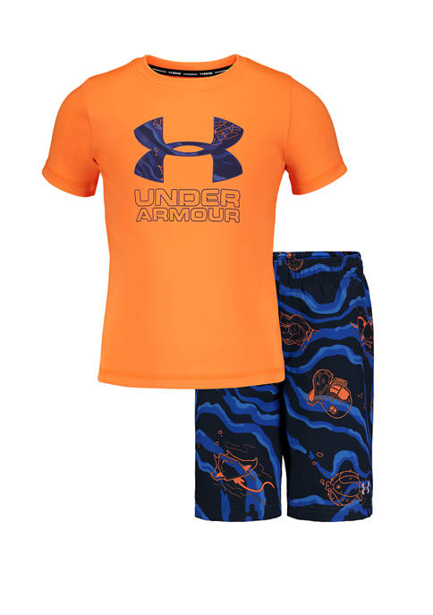 Under Armour® Boys 4-7 Sport Fish Volley Graphic