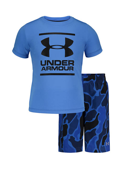 Under Armour® Boys 4-7 Diverge Volley Graphic T-Shirt