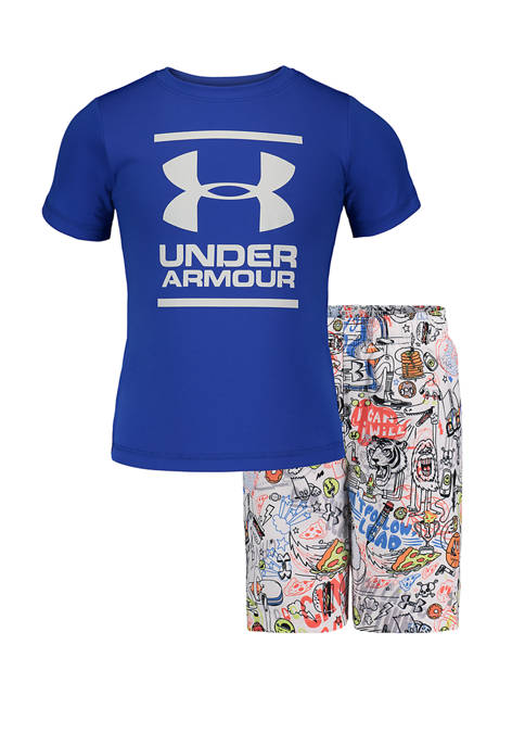 Under Armour® Boys 4-7 Future Show Volley Graphic