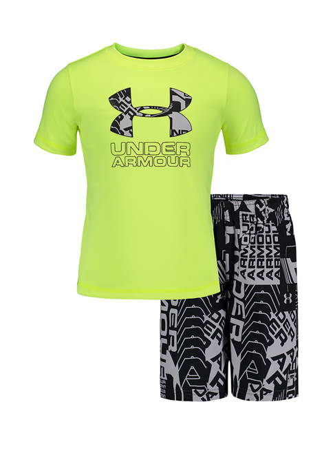Under Armour® Boys 4-7 Delayed Volley Graphic T-Shirt