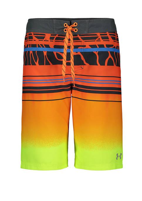 Under Armour® Boys 8-20 Diverge Gradient Swim Shorts