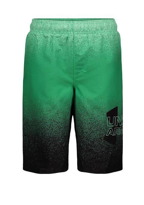 Under Armour® Boys 8-20 Spray Logo Swim Volley