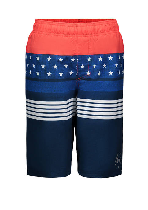 Under Armour® Boys 8-20 Stars and Stripes Swim