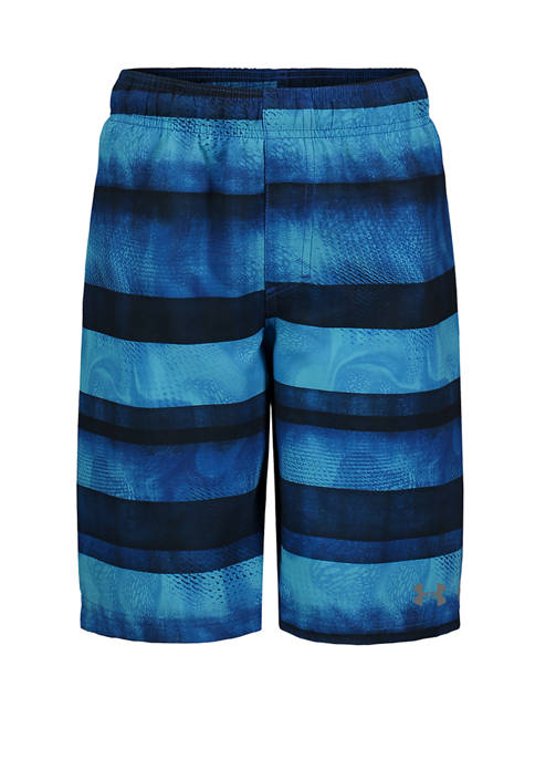 Under Armour® Boys 8-20 Biogen Stripe Swim Volley