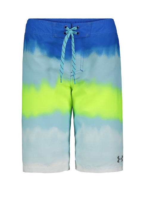 Boys 8-20 Ombre Gradient Swim Shorts