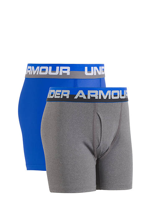 2-Pack Solid Performance Boxers