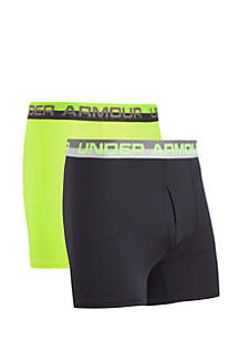Under Armour® 2-Pack Solid Performance Boxer