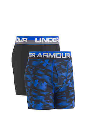 08d5416cf3 Under Armour® 2-Pack Performance Boxers Boys 8-20 ...