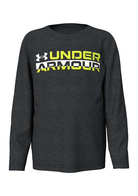 Under Armour® Boys 4-7 Signature Long Sleeve T-Shirt