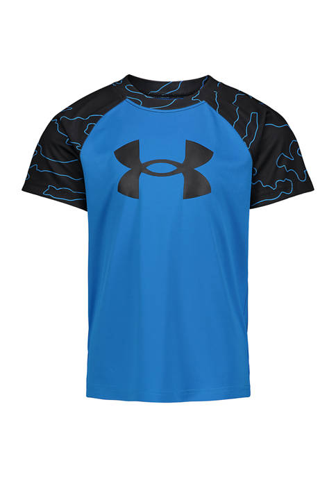 Under Armour® Boys 4-7 Fury Outline Short Sleeve