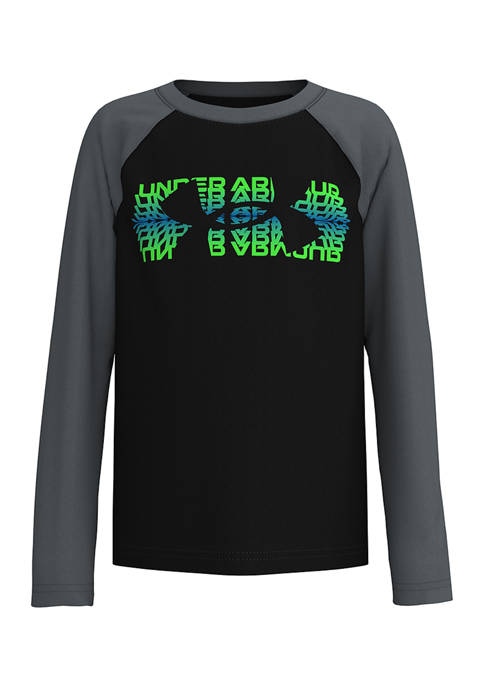 Under Armour® Boys 4-7 Gradient Fade Long Sleeve