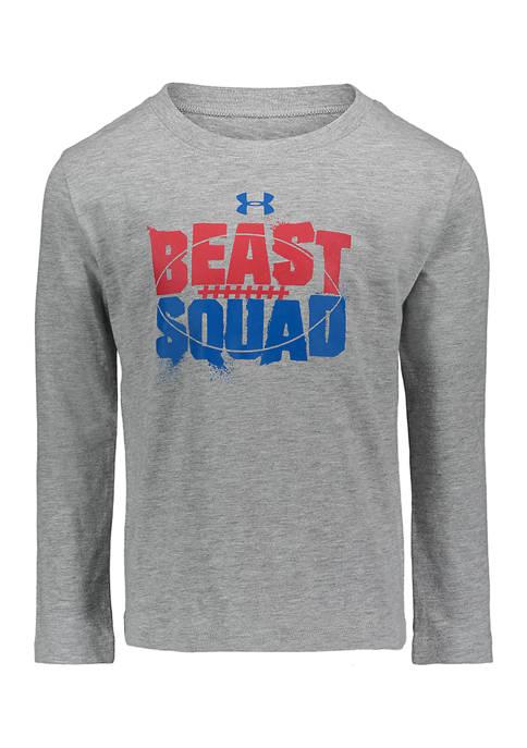 Boys 4-7 Beast Squad Long Sleeve Shirt