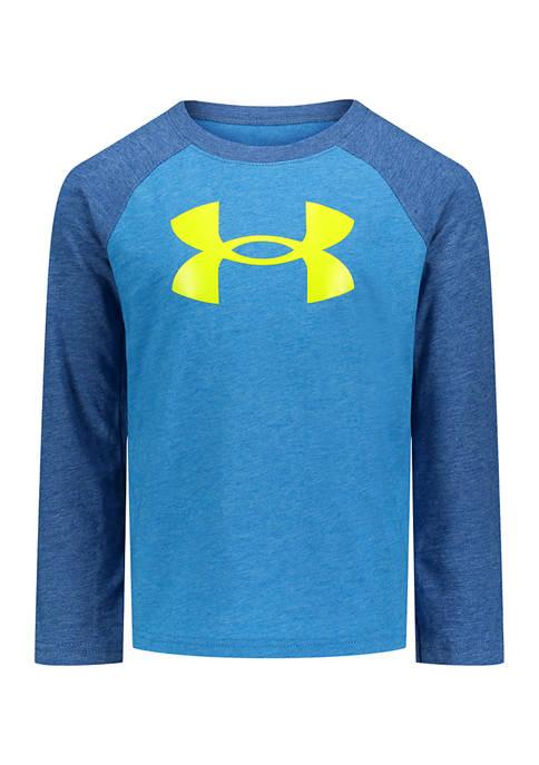 Under Armour® Boys 4-7 Big Logo Long Sleeve