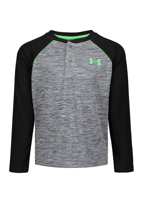 Under Armour® Boys 4-7 Long Sleeve Twist Henley