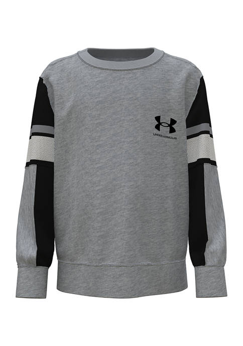 Under Armour® Boys 4-7 Long Sleeve Legendary Pullover