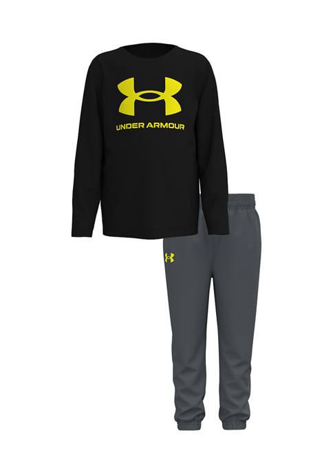 Under Armour® Boys 4-7 Core Logo Set