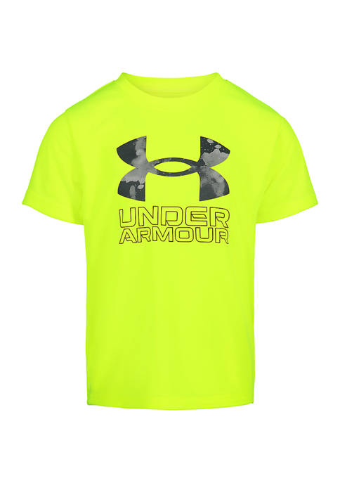 Under Armour® Boys 4-7 Short Sleeve Cloud Graphic