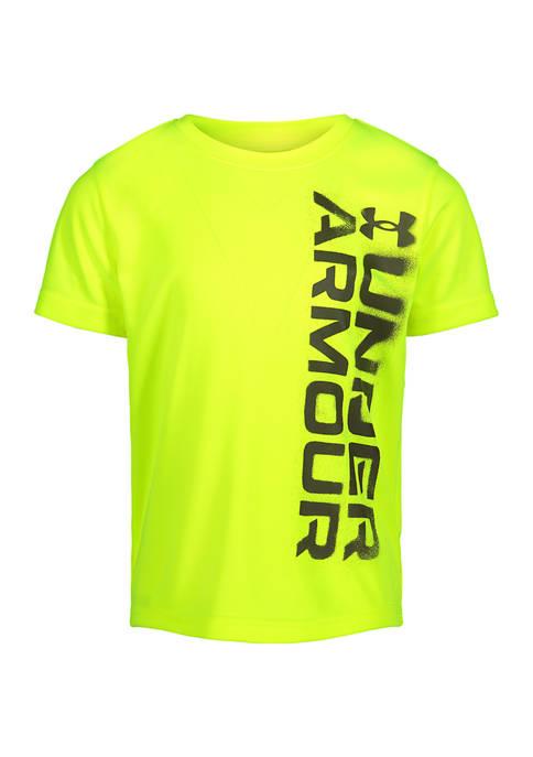 Under Armour® Boys 4-7 Short Sleeve Graphic T-Shirt