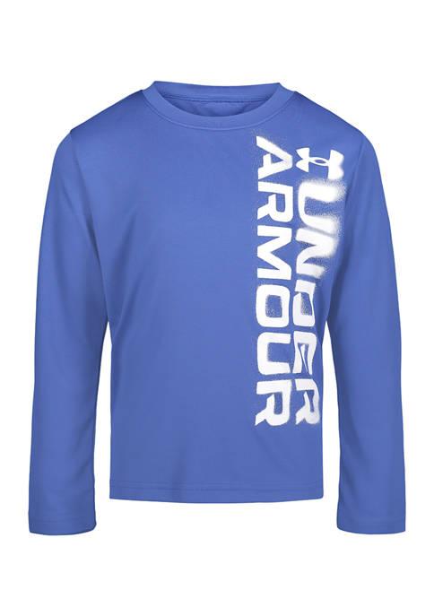 Under Armour® Boys 4-7 Long Sleeve T-Shirt