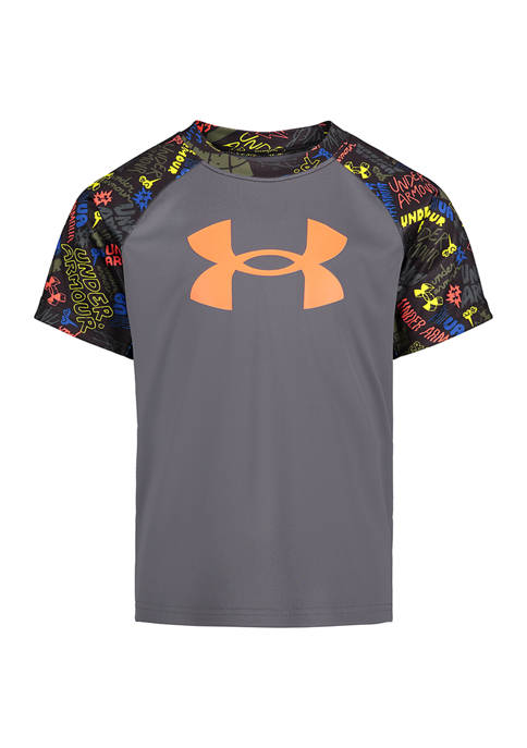 Under Armour® Boys 4-7 Brand Marker Graphic T-Shirt
