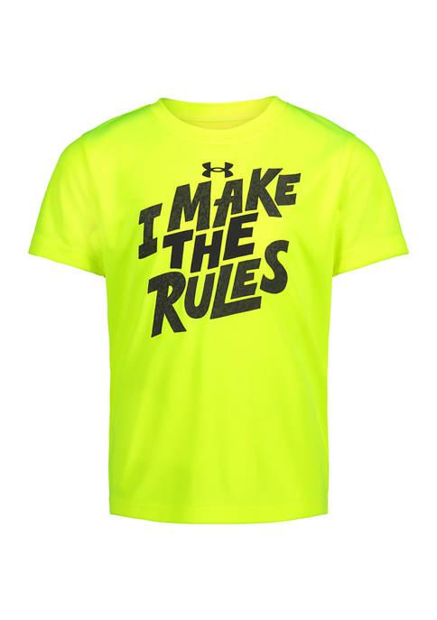 Boys 4-7 I Make The Rules T-Shirt