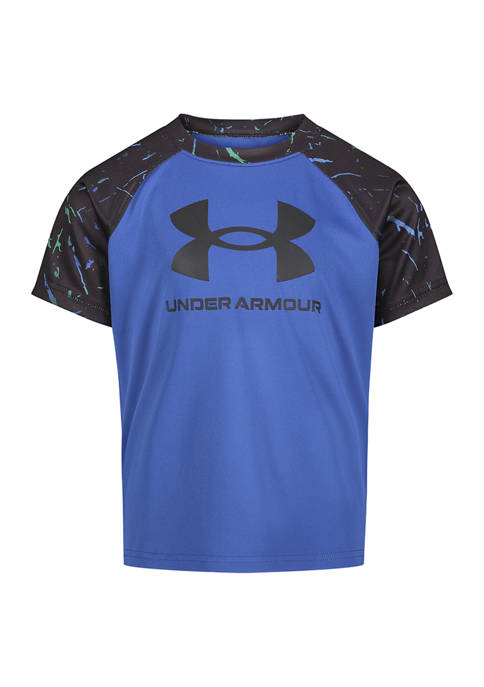 Under Armour® Boys 4-7 Segment Splatter Big Logo
