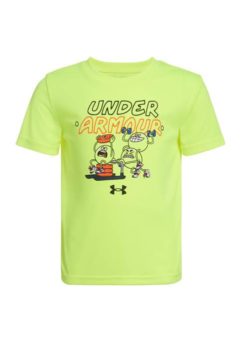 Under Armour® Boys 4-7 Short Sleeve Pumping Iron