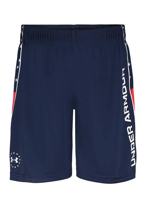 Under Armour® Boys 4-7 Americana Bolt Shorts