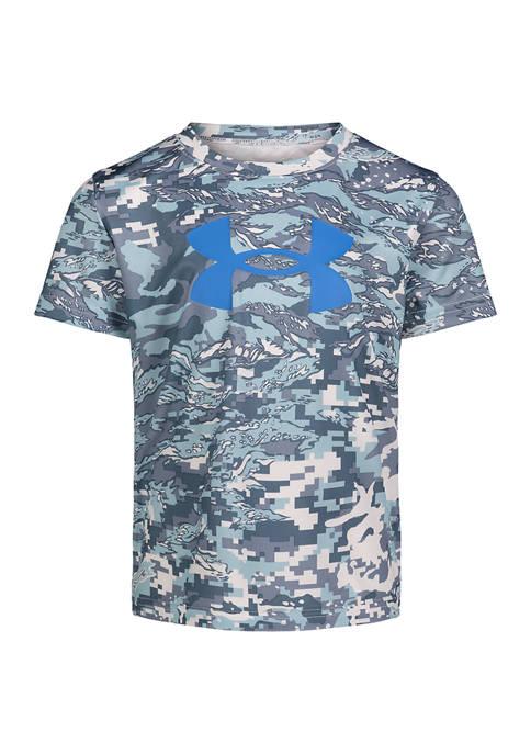 Under Armour® Boys 4-7 ABC Camo T-Shirt