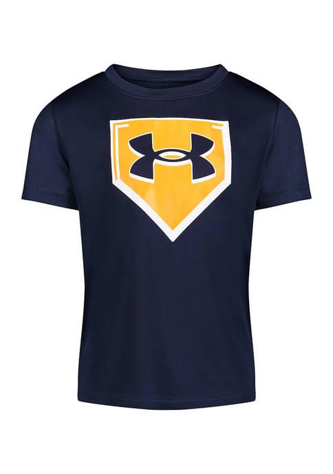 Under Armour® Boys 4-7 Mixed Deck Short Sleeve