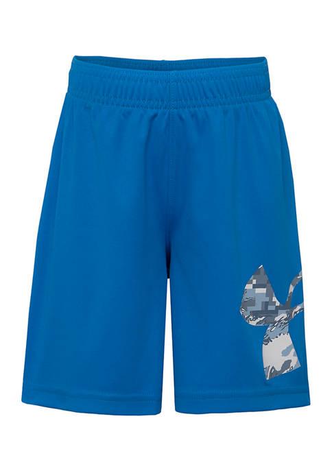 Under Armour® Boys 4-7 ABC Camo Striker Shorts