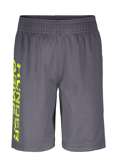 Under Armour® Boys 4-7 Signature Logo Shorts