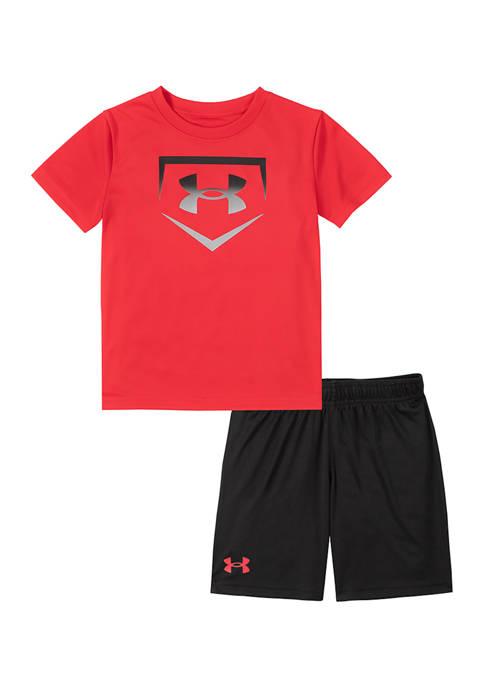 Under Armour® Boys 4-7 Base Graphic T-Shirt Set