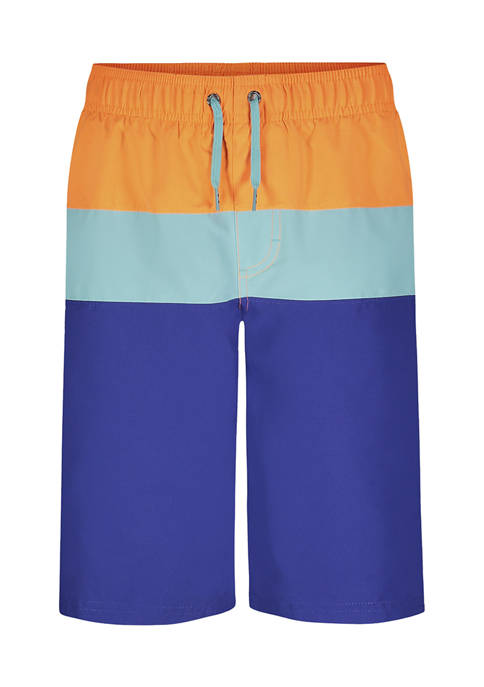 Under Armour® Boys 8-20 Tri Block Swim Shorts