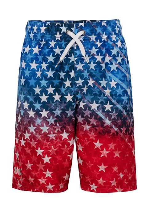 Under Armour® Boys 8-20 Americana Swim Shorts