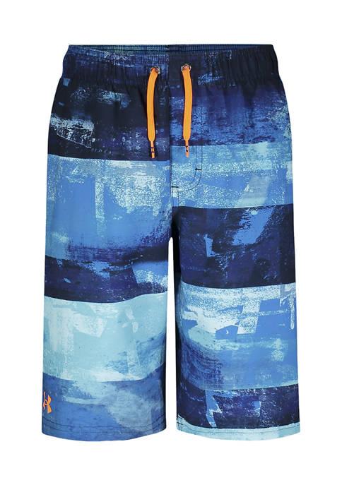 Under Armour® Boys 8-20 Graffiti Stripe Swim Shorts