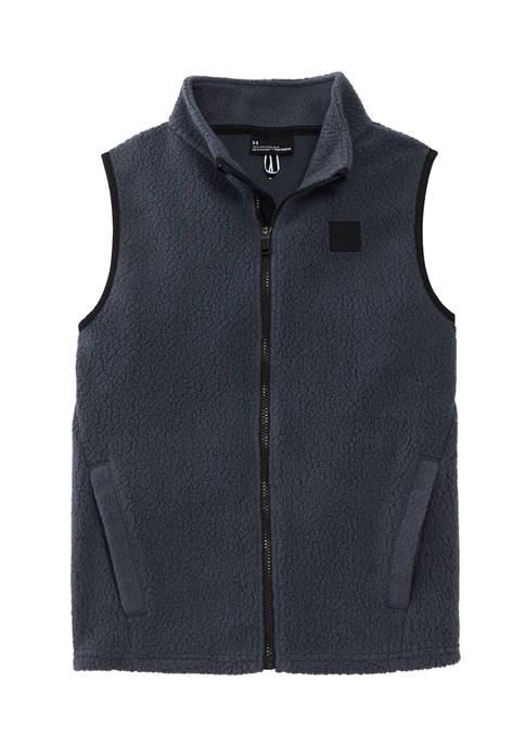 Under Armour® Boys 8-20 Sherpa Fleece Vest
