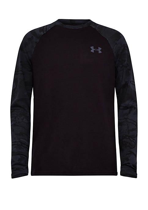 Boys 4-7 UA Half Tone Raglan T Shirt