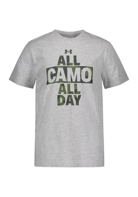 Under Armour® Boys 4-7 All Camo All Day