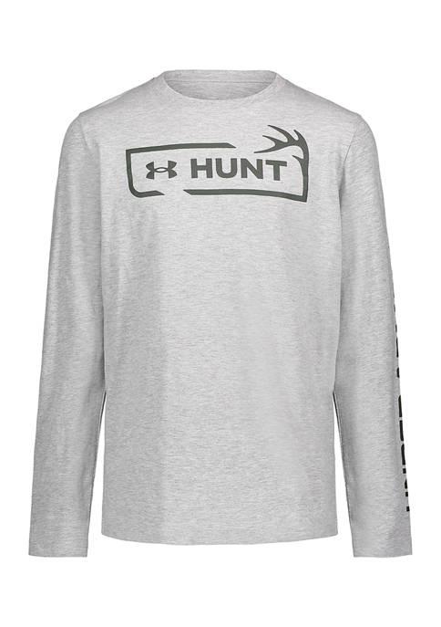 Under Armour® Boys 4-7 Long Sleeve Hunt Symbol