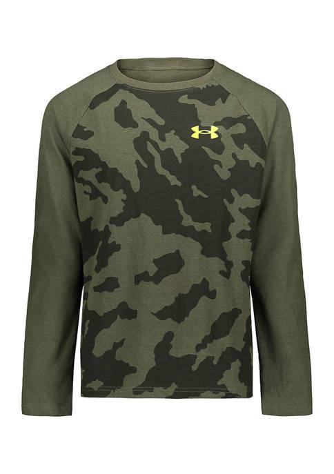 Boys 8-20 Long Sleeve Camo T-Shirt