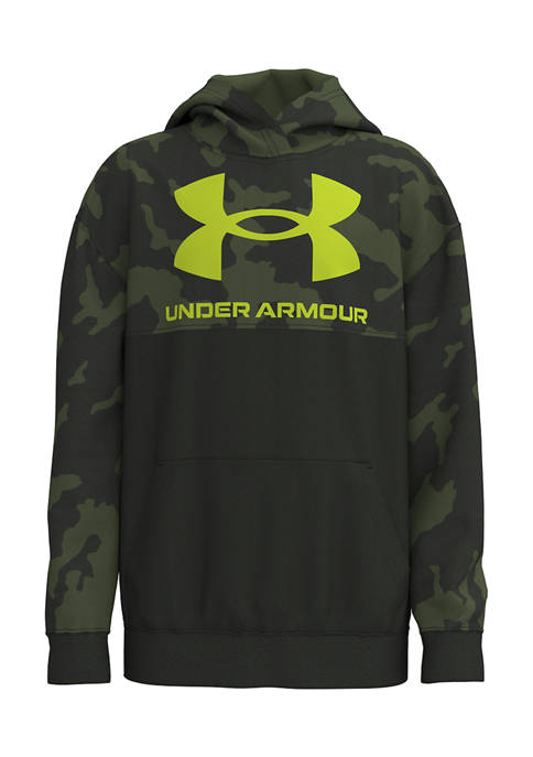 Under Armour® Boys 4-7 Camouflage Logo Graphic Hoodie