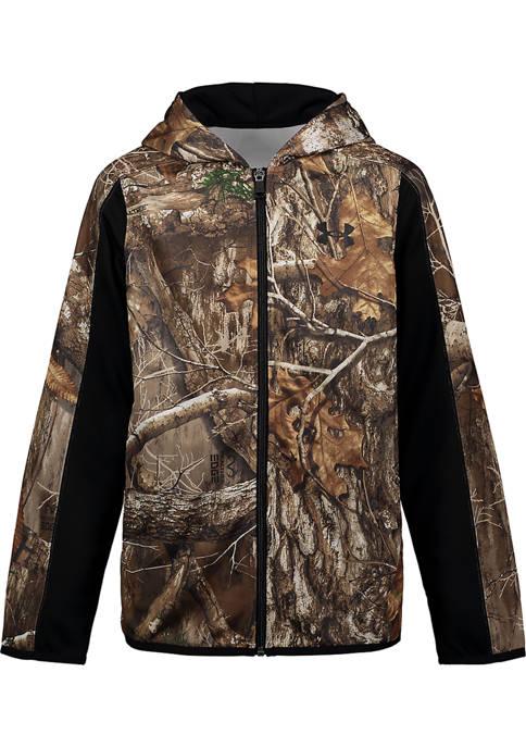 Under Armour® Boys 8-20 Camouflage Fleece Hoodie